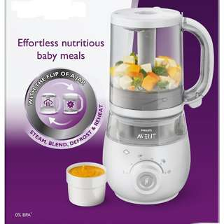 Philips Avent 4in1 Baby Food Blender and Steamer