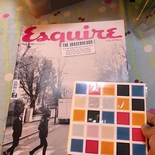 Esquire THE ERASERHEADS with CD inside