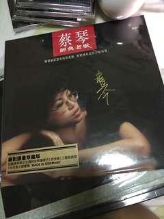 蔡琴 亲笔签名 经典老歌 黑胶唱片