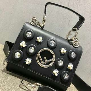 Fendi Pearls Diamond Premium Bag