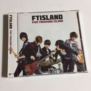 K-Pop FT ISLAND Five Treasure Island CD+DVD