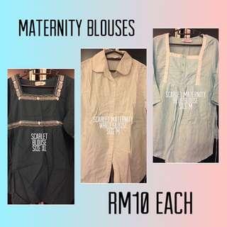 Pre-loved Maternity Blouses