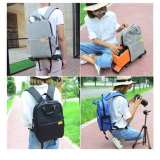Travel backpack for DSLR camera, Laptop, Tripod and more