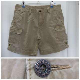 Uniqlo cotton cargo shorts