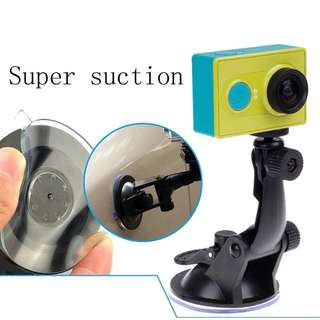 Action camera Accessories Car Sucker Holder Mount Suction Cup for Go Pro Hero 6/5/4/3/3+/2 SJ5000 SJ4000 Mini Camcorder DVR