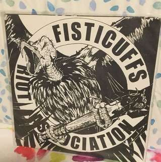 "Fisticuffs - 7"" vinyl record single - underground punk USA"