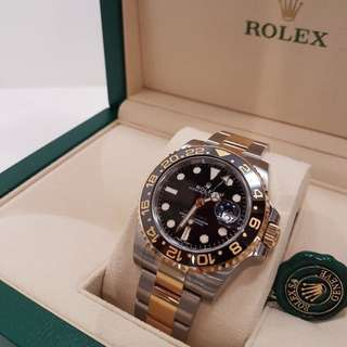 116173LN Rolex GMT Master II