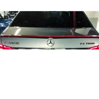 Mercedes E200 Spoiler
