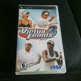 [CIB] Virtua Tennis 3 PSP Game