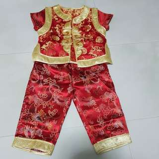 CNY Clothes for boy