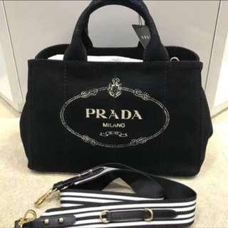訂貨Prada canvas tote bag