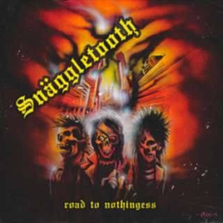 SNÄGGLETOOTH 'Road To Nothingess' Orange Marble 7""