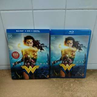 Wonder Woman - Blu Ray & DVD with slipcase - US import (original) One of the best movies in 2017