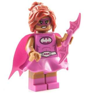 Lego Pink Batgirl Batman Movie Minifigures Series 1 71017