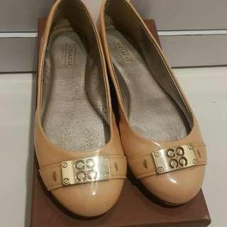 Authentic Coach flat shoes