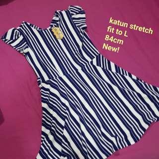 Stripes dress nego