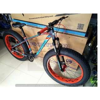 Latest Phantom Herculin Hydraulic Fatbike Alloy Fat Bike Bicycle 26