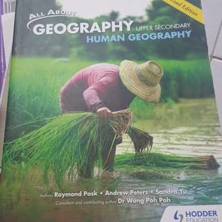 Upper secondary human Geography text book