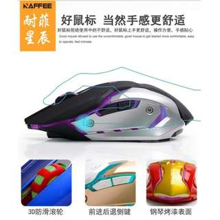 🚚 2.4ghz Rechargeable Gaming mouse