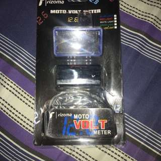 Volt meter with case