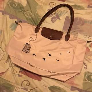 Long champ🎀special edition pink bag