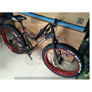 Latest Trinx T106 Fat bike Mechanical Alloy Fatbike *Tiger*