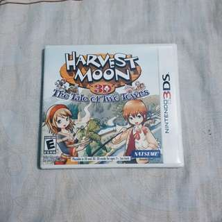 Harvest Moon Tale of Two Towns Nintendo 3DS