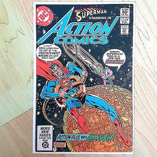 DC Comics Action Comics 528 Near Mint Condition