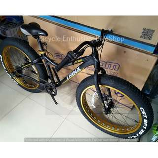 2018 Trinx T106 Fatbike Mechanical Alloy Fat Bike Bicycle