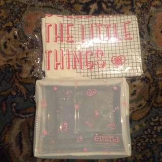 POUCH&TOTE BAG EMINA (paket)