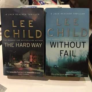 Lee Child Series x2