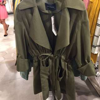 Stravarious parka