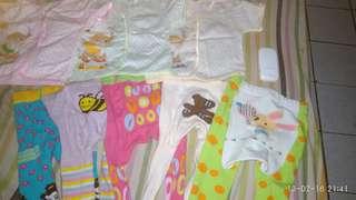 Legging dan baju bayi