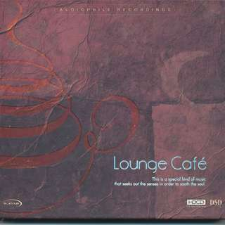 Lounge Cafe (HDCD) Audiophile Recordings (Platinum Records) AUDIO CD [x6]