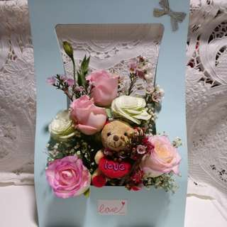Delivery included! Still avail! Valentines day fresh flower box bouquet