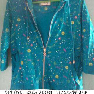 Blue Green Jacket