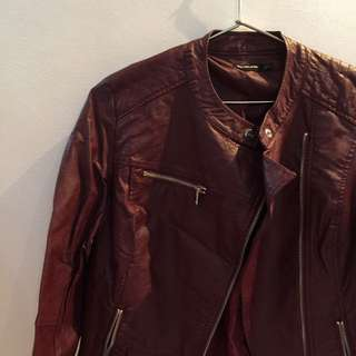 Stradivarius Leather Jacket