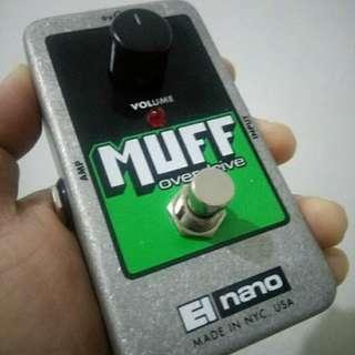 Electro Harmonix Muff Overdrice