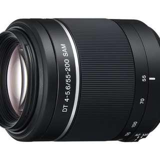 Sony Alpha DSLR-A230 (55-200mm lens)