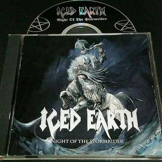 iced earth (Night of the stormrider) cd metal