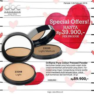 Oriflame Pressed Powder