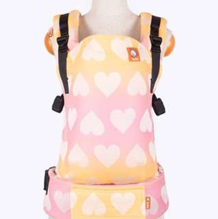 Brand new Love Peach Sorbet Tula Full Wrap Conversion WC FTG Carrier