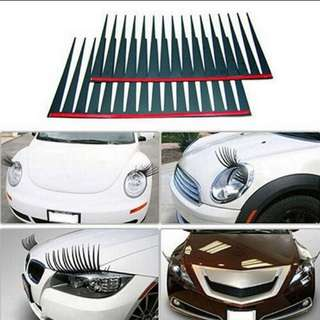 Headlight eyelash design
