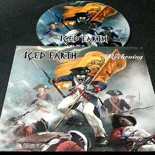 iced earth (The reckoning) ep cd metal - rare