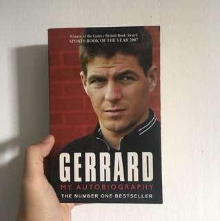 Steven Gerard Autobiography
