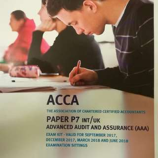 ACCA Paper7