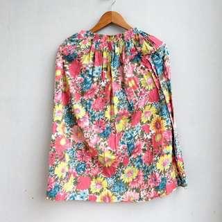 #cintadiskon Floral Pink Skirt