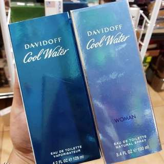 Authentic Davidoff Coolwater US Tester
