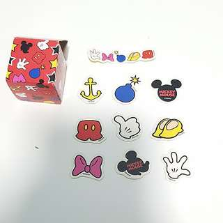Bn disney mickey mouse stickers in a box