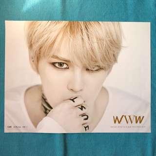 📍[Clearance] KIM JAE JOONG-WWW Poster